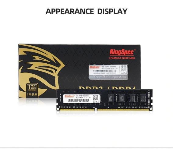 Memória Ram Computador Ddr3 8gb 1600mhz Kingspec