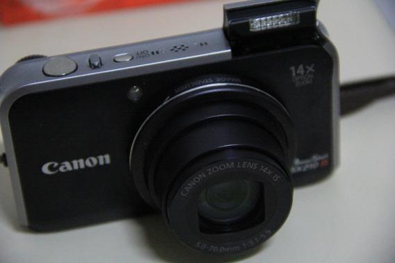 Câmera Canon Powershot Sx210 Is 14.1 Mp