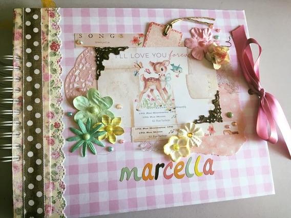 Libro De Firmas Para Bautizo, Baby Shower, Infantiles, Etc.