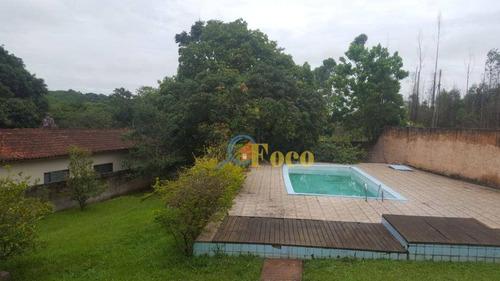 Chácara Com 3 Dormitórios À Venda, 2500 M² Por R$ 450.000,00 - Pomar São Jorge - Itatiba/sp - Ch0069