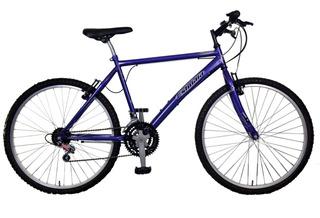Bicicleta Mountain Bike Rodado 26 Con 18 Velocidades