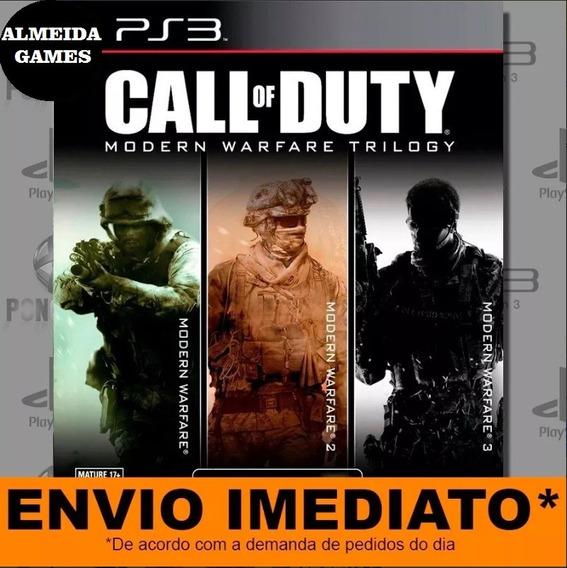 Jogo Ps3 Call Of Duty Modern Warfare 1 2 3 Psn Jogue Hoje