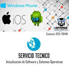 Servicio Técnico Actualización Software Teléfonos Android