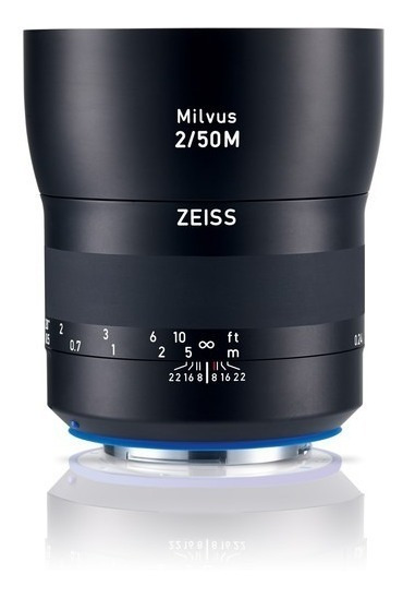 Zeiss Milvus 50mm F/2m Macro Lente Para Canon Ef E Nikon F