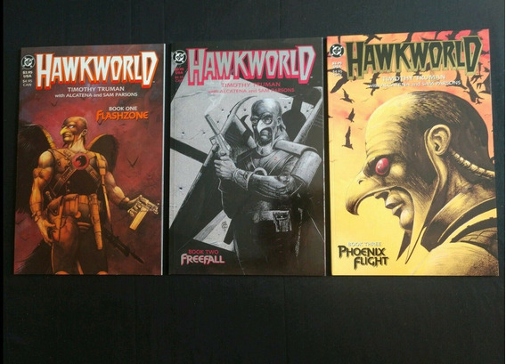 Batman Gaviao Negro Hawkworld 1 A 3 Graphic Novels Dc Comics