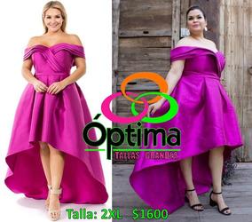 Vestido Noche/graduacion Talla Extra 2xl Y 3xl