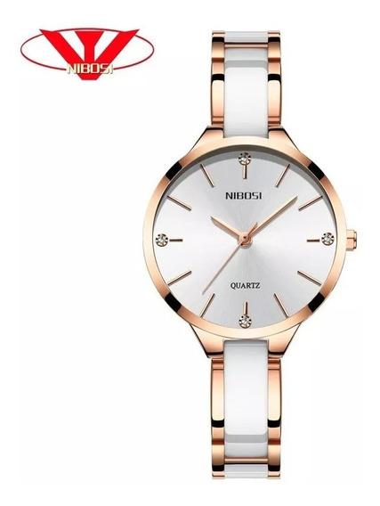 Relógio Nibosi Feminino Original - Lançamento 2019