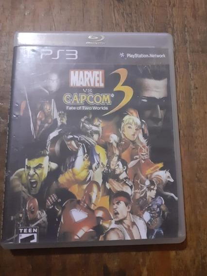 Marvel Vs Capcom 3, Ps3, Mídia Física