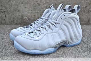 Nike Air Foamposite One Grey Suede