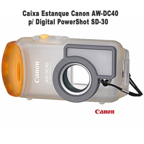 Caixa Estanque Canon Aw-dc40 P/ Digital Powershot Sd-30