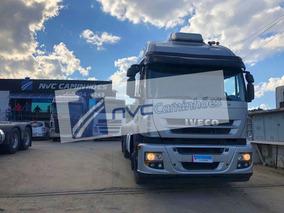 Iveco Stralis 460 6x4 Traçado 2012 Aut C/ar= Scania Volvo Mb