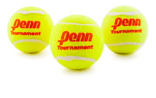 Pelota Tenis Penn Sello Rojo Set 3 Unidades