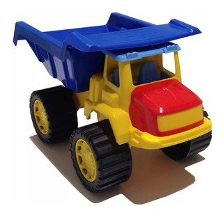 Camion Volcador Grande Muy Resistente Camion Arenero Juguete