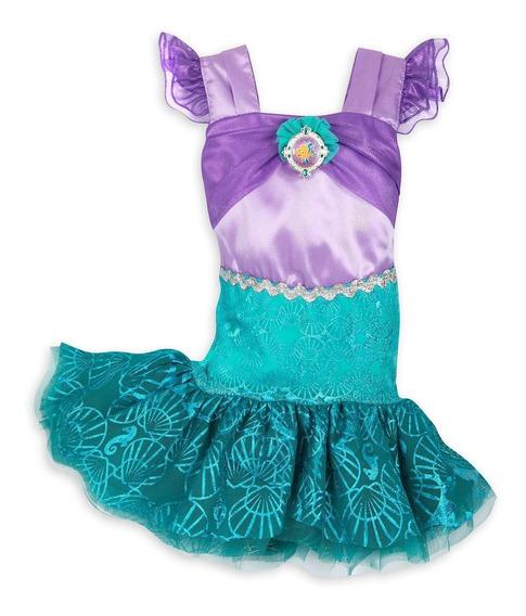 Disfraz Vestido Sirenita Ariel Disney Store Bebe