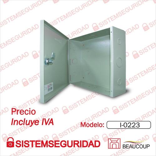 Caja De Paso Metalico Beaucoup I-0223 25x25x10cm Cctv Alarma