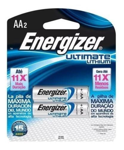 Pilha Energizer Ultimate Lithium Aa