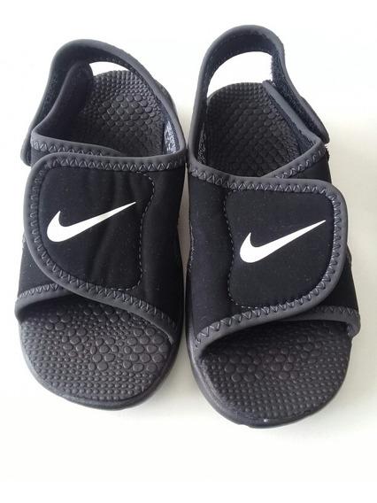 Sandalia Nike Negro Unisex. La Segunda Bazar