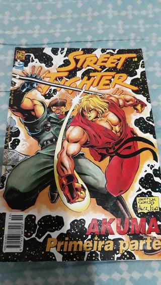 Revista Games Super Street Fighter 2 Zero Quadrinhos Ken Br