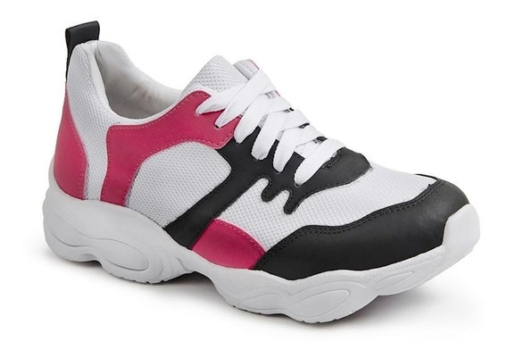 Tênis Feminino Luma Ventura Chunky Sneakers Branco