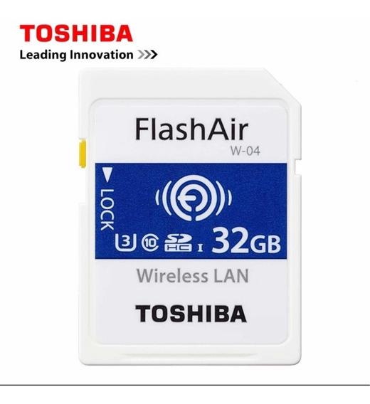 Cartao Sd Flashair 32gb Toshiba