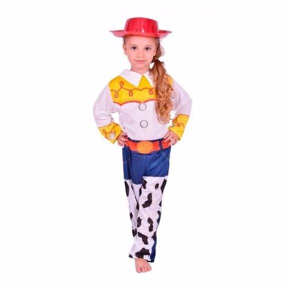 Disfraz Jessie Toy Story Vaquerita Original Talle 2 6/8 Años