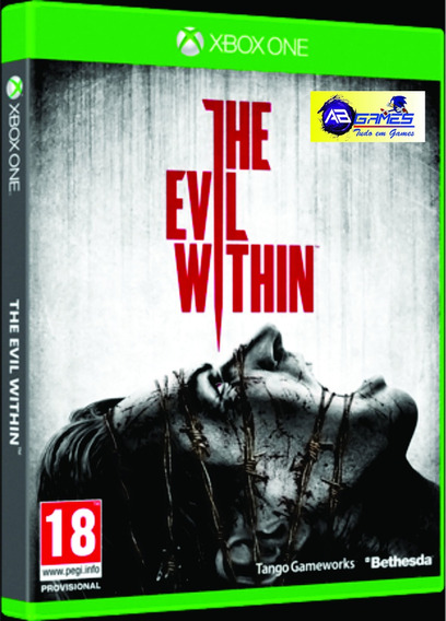 The Evil Within Xbox One Original Novo Lacrado Ab Games