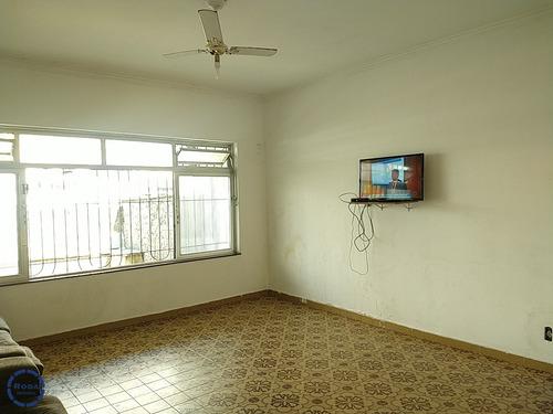 Amplo Sobrado Geminado Com 3 Dormitórios Na Vila Belmiro - V8095