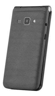 Celular Semp Go 1m 2,8 Pol 32mb Flip 2 Chips Fm P/ Idoso