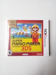 Super Mario Maker 3ds Para Nintendo 3ds Nuevo Y Sellado