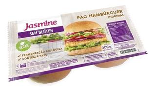 Kit C/ 2 Pães De Hambúrguer Original Sem Glúten Jasmine