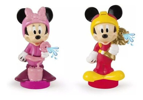 Disney Mickey Clubhouse Pack 2 Fig Lanza Agua Int 182769