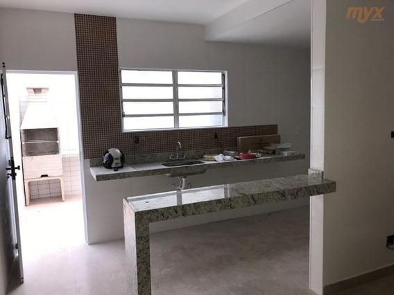 Casa Com 2 Dormitórios Para Alugar, 90 M² Por R$ 1.690,00/mês - Vila São Jorge - São Vicente/sp - Ca0705
