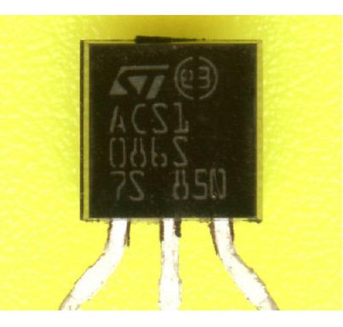 Imagen 1 de 2 de Acs108-6sa Acs1086s Triac 0.8a 600v X10 Unidades
