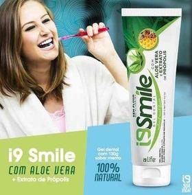 Gel Dental Smile 100% Natural-aloe Vera-mel-própolis 130g