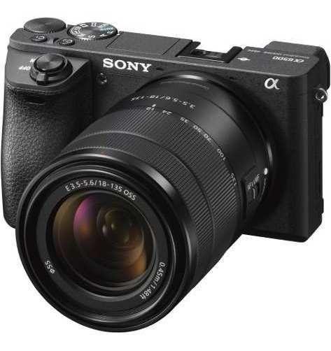 Câmera Sony A6500 18-135 Mm 4k30 Ull Hd 1080p120