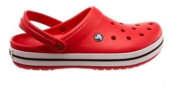 Crocs Crocband Unisex Rojas Originales