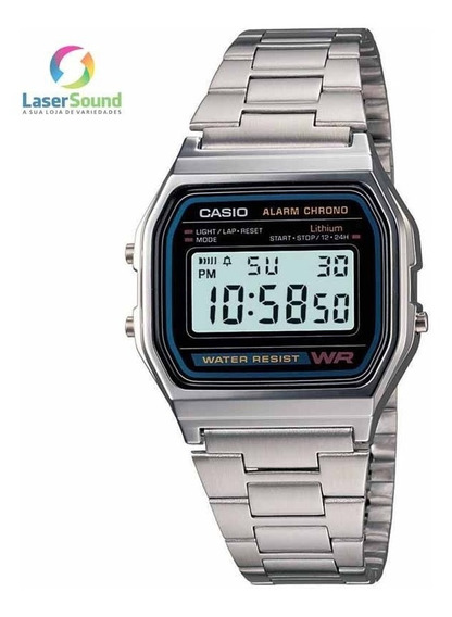 Relógio Casio Feminino Vintage A158wa-1df C/ Garantia E Nf