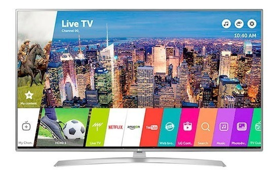Smart Tv 75 4k Uhd Ips Hdr Lg 75uj6580 Novogar
