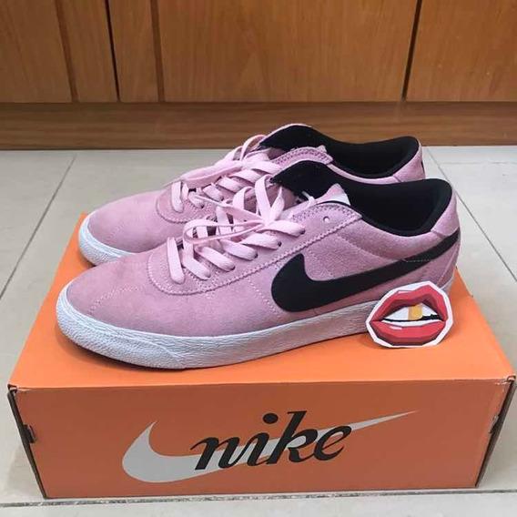 Tênis Nike Sb Bruin Pink Motel Janoski