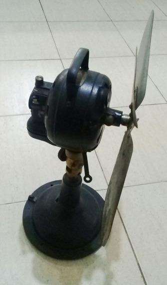 Antiguo Ventilador Marelli Bronce