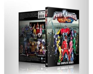 Dvds Power Rangers Spd Super Patrulha Delta Série Completa