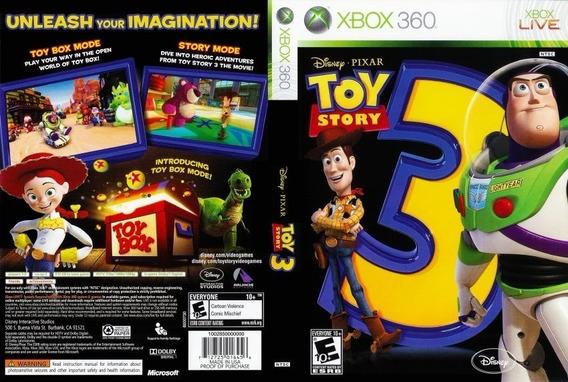 Jogo Toy Story 3 Xbox360 Midia Digital