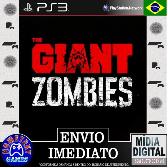Dlc Mapa Zumbi The Giant Cod Black Ops 3 - Ps3 Psn