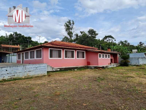 Linda Chácara Com 4 Dormitórios, Piscina, Ótima Localização, À Venda, 912 M² Por R$ 380.000 - Rural - Monte Alegre Do Sul/sp - Ch0871