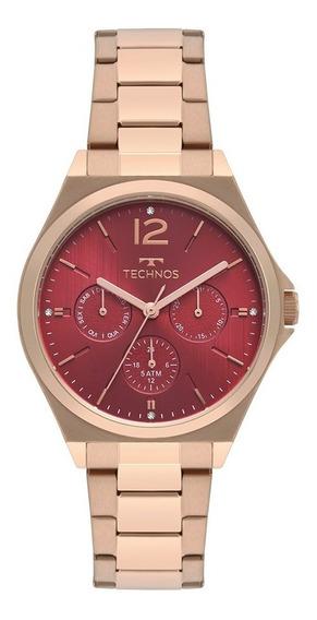 Relógio Technos 6p29akb/4r Rosé