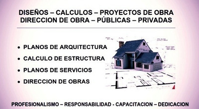 Proyectista Free Lance Multirubro, Ingeniería Y Arquitectura