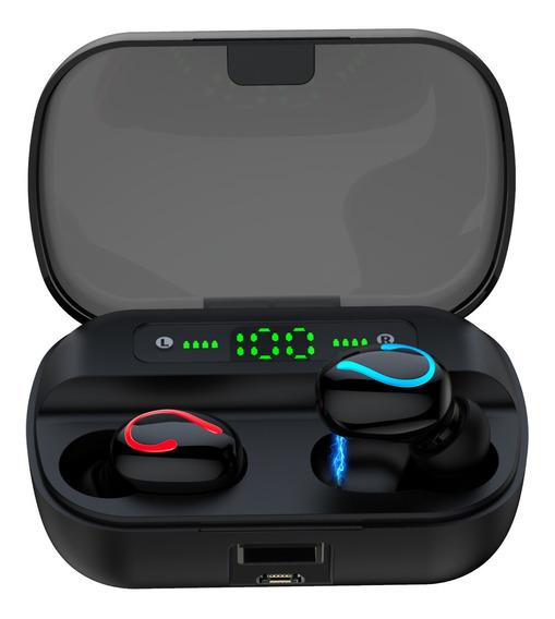 Q61 Tóis Wireless5.0 Fone De Ouvido Fone De Ouvido Preto