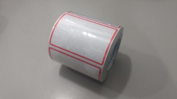 Etiqueta Adesiva Branca Grande Rolo C/333 Etiquetas 85x60mm