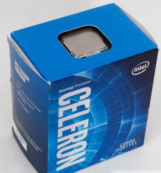 Processador Celeron G3930 Lga 1151 + Coolerbox