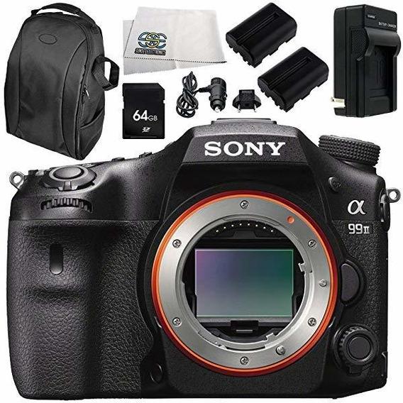 Camara Sony Alpha A99 Ii Ilca99m2 A99ii Dslr Body Only 7pc ®